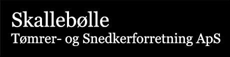 Skallebølle, Tømrer- og Snedkerforretning ApS